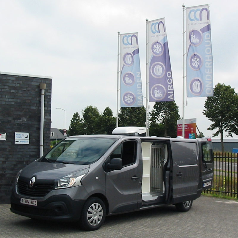 Renault Traffic Hondentransport