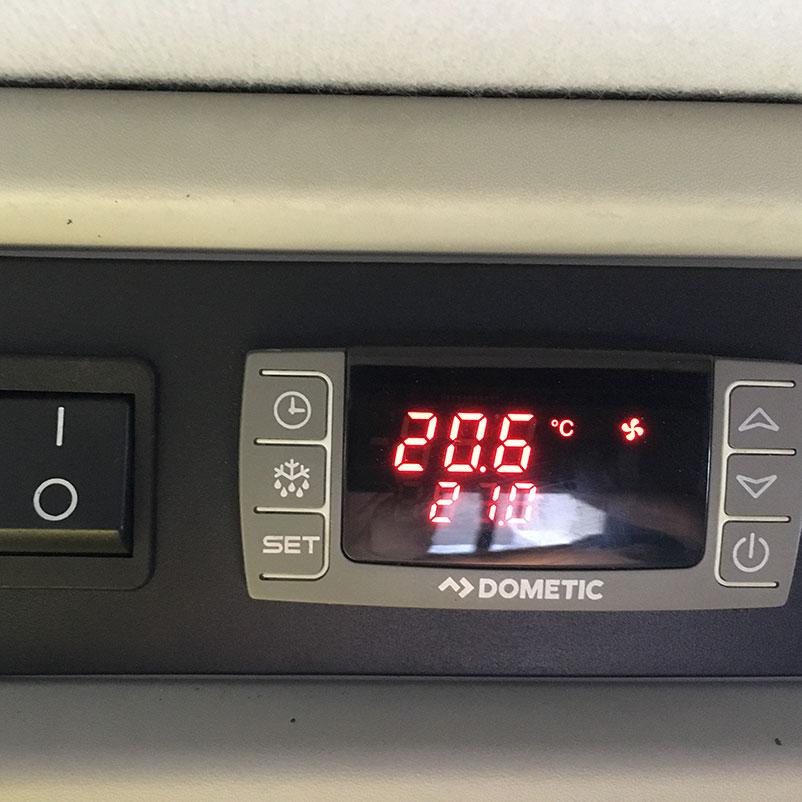 Temperatuurinstelling